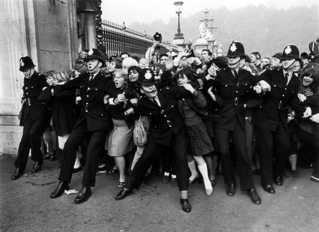 Beatles Fans Bobbies
